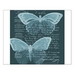 French Butterflies Teal Posters
