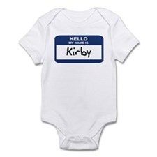 Hello: Kirby Infant Bodysuit