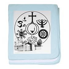 Interfaith Logo baby blanket