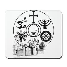 Interfaith Logo Mousepad