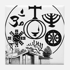 Interfaith Logo Tile Coaster
