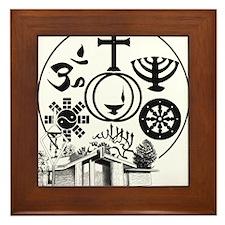 Interfaith Logo Framed Tile