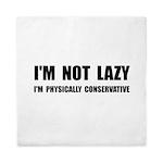 Lazy Conservative Queen Duvet
