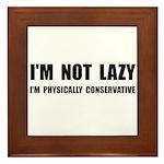 Lazy Conservative Framed Tile