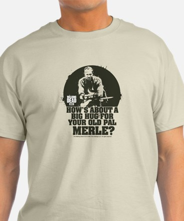 Walking Dead Merle Big Ole Hug T-Shirt