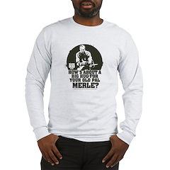 Walking Dead Merle Big Ole Hug Long Sleeve T-Shirt