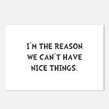 Nice Things Postcards (Package of 8)