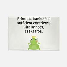 Princess Frog Rectangle Magnet (10 pack)