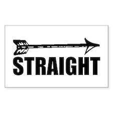 Straight as an arrow Decal