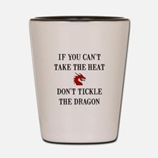 Tickle The Dragon Shot Glass