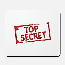 Top Secret Stamp Mousepad