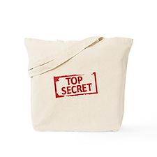 Top Secret Stamp Tote Bag