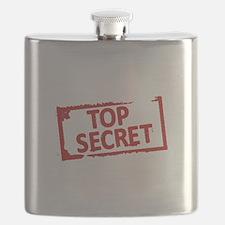 Top Secret Stamp Flask