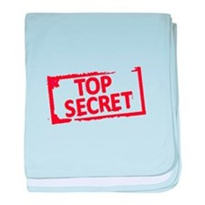 Top Secret Stamp baby blanket