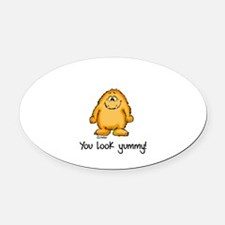 You look yummy - cute monster by send2smiles Oval