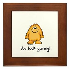 You look yummy - cute monster by send2smiles Frame
