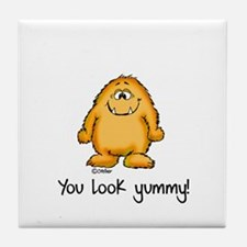 You look yummy - cute monster by send2smiles Tile
