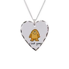 You look yummy - cute monster by send2smiles Neckl