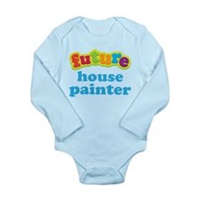 Future House Painter Long Sleeve Infant Bodysuit