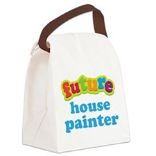 Future House Painter Canvas Lunch Bag