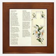 Prayers of the Rosary Framed Tile