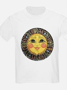 Sun Face #2 (blk) T-Shirt