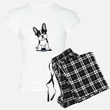 French Bulldog B/W Mask Pajamas