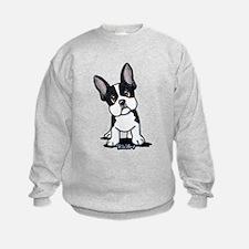 French Bulldog B/W Mask Sweatshirt