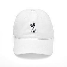 French Bulldog B/W Mask Baseball Cap
