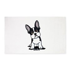 French Bulldog B/W Mask 3'x5' Area Rug