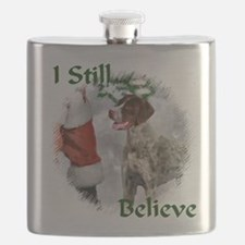 German Shorthaired Pointer Christmas Flask