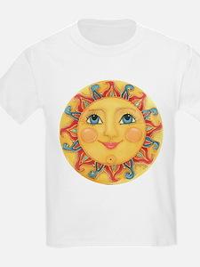 Sun Face #3 - Summer T-Shirt