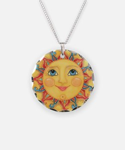 Sun Face #3 - Summer Necklace