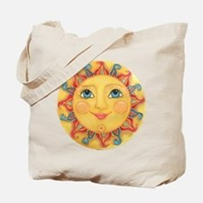 Sun Face #3 - Summer Tote Bag