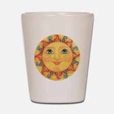 Sun Face #3 - Summer Shot Glass