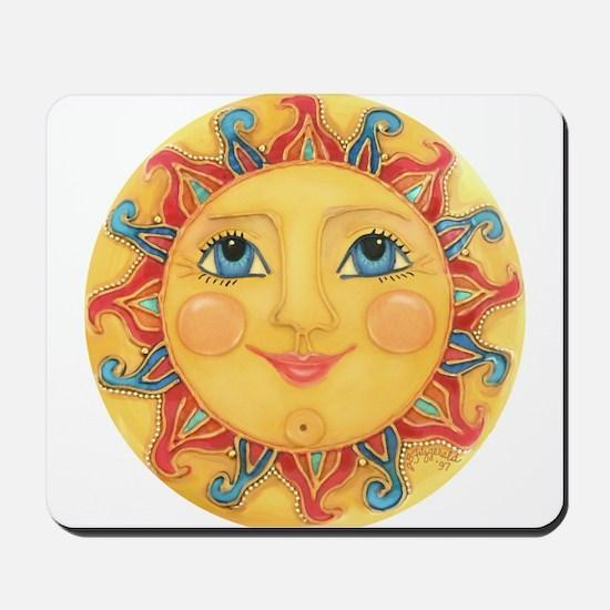 Sun Face #3 - Summer Mousepad