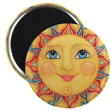 """Sun Face #3 - Summer 2.25"""" Magnet (100 pack)"""