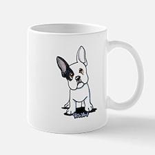 B/W French Bulldog Mug