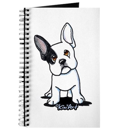 B/W French Bulldog Journal