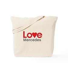 I Love Mercedes Tote Bag