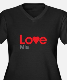 I Love Mia Plus Size T-Shirt