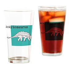 Ankylosaurus Drinking Glass