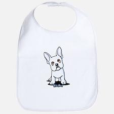 White French Bulldog Bib