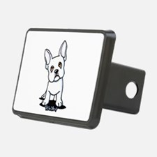 White French Bulldog Hitch Cover