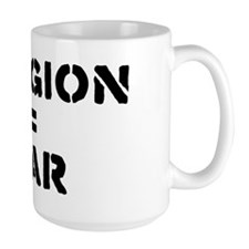 Religion Equals War Atheism Mug