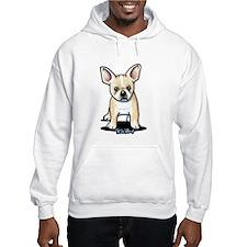 B/W French Bulldog Hoodie