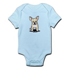 B/W French Bulldog Infant Bodysuit