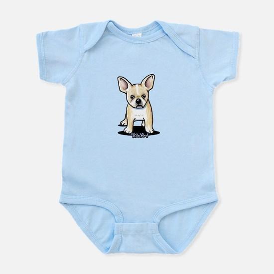 B/W French Bulldog Infant Bodysuit
