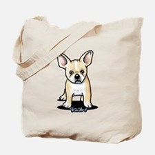 B/W French Bulldog Tote Bag