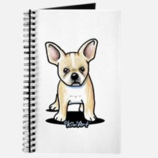 B/W French Bulldog Journal